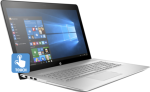 HP Envy 17t Core i7-8550U, 16GB RAM, 256GB SSD + 1TB HDD, GeForce MX150, 4K IPS Touch