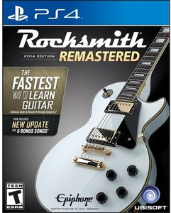 Rocksmith 2014 Edition - Remastered with Real Tone Cable (PS4)