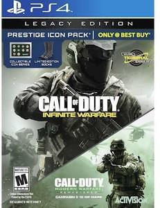 Call of Duty: Infinite Warfare Legacy Edition Prestige Icon Pack (PS4)