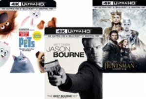 Best Buy: 4K UHD Movies 2 for $20