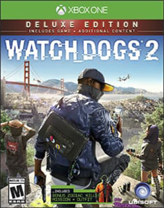 Watch Dogs 2 Deluxe Edition (Xbox One Download) - Gold Required