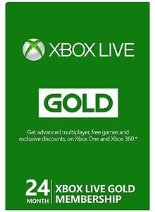 Xbox Live 24 Month Gold (Digital Code)