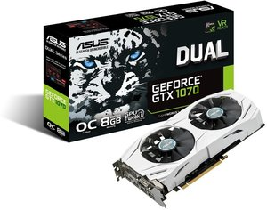 ASUS GeForce GTX 1070 8GB Video Card DUAL-GTX1070-O8G