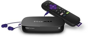 Roku Premiere+ 4K Streaming Media Player w/HDR (Refurbished)
