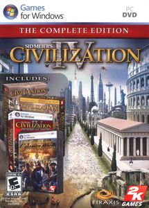 Civilization Bundle (Civ IV Complete, Civ III Complete, CivCity Rome)