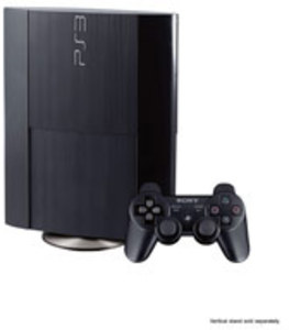 PlayStation 3 Super Slim Black 500GB Console (Refurbished)