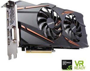 Gigabyte GeForce GTX 1070 8GB Video Card