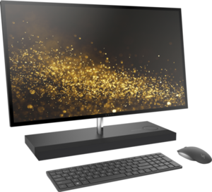 HP Envy 27-b120qd All-in-One Desktop, Core i5-7400T, 8GB RAM, 1TB Hybrid Drive, QHD IPS 1440p