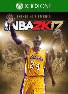 NBA 2K17 Kobe Bryant Legend Edition Gold (Xbox One Download)