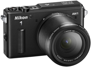 Nikon 1 AW1 Mirrorless Digital Camera with 11-27.5mm Lens (Refurbished)