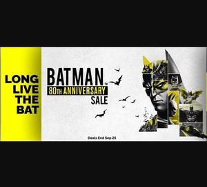 Green Man Gaming Sale: Batman 80th Anniversary Sale