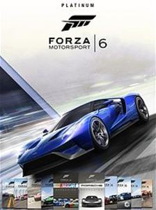 Forza Motorsport 6 Platinum Edition Bundle (Xbox One Download) - Gold Required