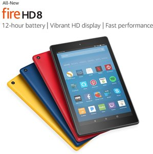 Fire HD 8 Tablet with Alexa 16GB with Special Offers - Prime Required