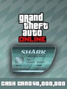 Megalodon Shark Cash Card ($8,000,000 - PS4 Download)