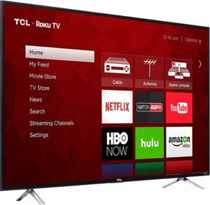 TCL 55S405 55-inch 4K HDR Roku Smart HDTV (Refurbished)