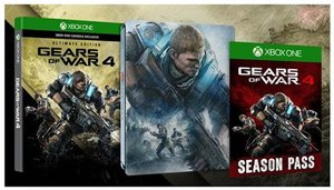 Gears of War 4: Ultimate Edition + Season Pass (Xbox One)