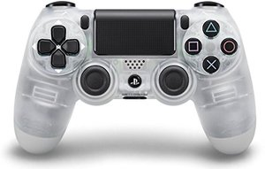 PS4 DualShock 4 Wireless Controller (Crystal)