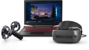 Lenovo Legion Y720 80VR0064US Core i7-7700HQ, GeForce GTX 1060, 1080p IPS, 8GB RAM, 256GB SSD + Lenovo Explorer Mixed Reality Bundle