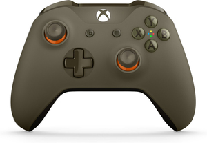 Xbox One Bluetooth Wireless Controller (Green/Orange)