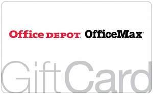 $100 Office Depot/OfficeMax Gift Card