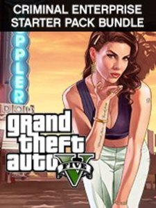 Grand Theft Auto V + Criminal Enterprise Starter Pack Bundle (PC Download)