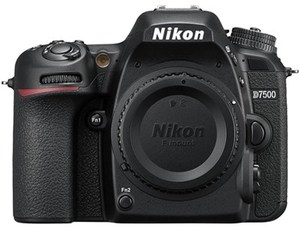 Nikon D7500 20.9MP DX 4K DSLR Camera - Body Only (Refurbished)