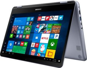 Samsung Notebook 7 Spin 2-in-1, Core i5-8250U, 8GB RAM, 256GB SSD, 1080p Touch