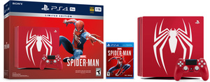 PlayStation 4 Pro 1TB Marvel's Spider-Man Limited Edition