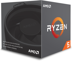 AMD Ryzen 5 2600 Six-Core 3.4GHz Desktop Processor