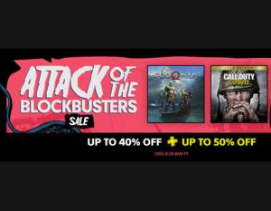 PSN: Attack of the Blockbuster Sale