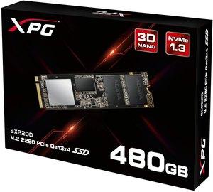 XPG SX8200 PCIe NVMe M.2 2280 480GB SSD