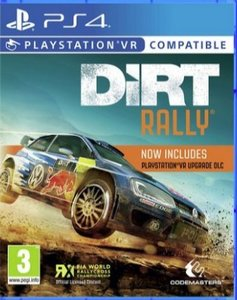 DiRT Rally Plus PSVR Bundle (PSVR Download) - PS Plus Required