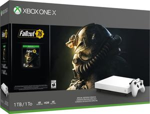 Xbox One X Robot White Fallout 76 Special Edition Console