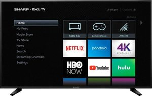 Sharp LC-58Q7370U 58-inch 4K HDR Roku Smart TV