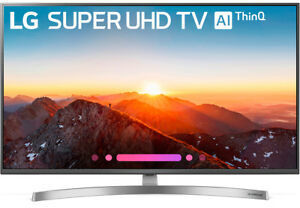 LG 65SK8000 65-inch 4K HDR Smart LED TV with AI ThinQ