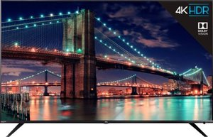 TCL 75R615 75-inch 4K HDR Roku Smart TV