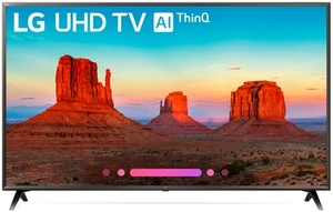 LG 65UK6300PUE 65-inch 4K HDR Smart LED TV with AI ThinQ