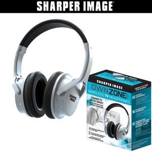 Sharper Image Own Zone Wireless TV Headphones