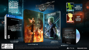 Final Fantasy VII: Remake Deluxe (PS4)