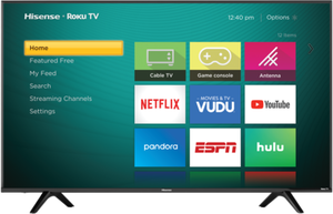 Hisense 60R5800E 60-inch 4K HDR Roku Smart LED TV