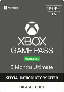 Xbox Game Pass 3 Month Ultimate Digital Code (New Customers Only)