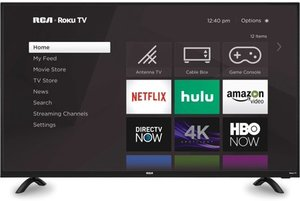 RCA RTRU5027-W 50-inch 4K HDR Roku Smart LED TV