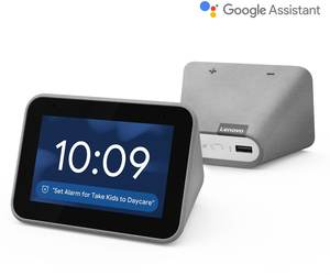 """Lenovo Smart Clock 4"""" Display with Google Assistant"""