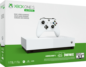 Xbox One S 1TB All Digital Edition