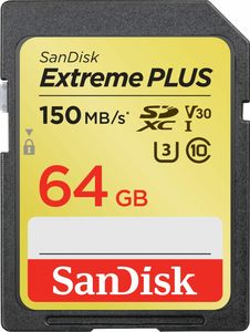 SanDisk Extreme PLUS 64GB microSDXC Memory Card