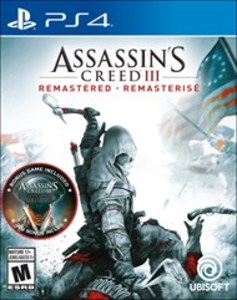Assassin's Creed III Remastered (PS4) - Pre-owned