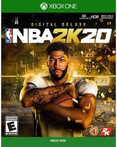 NBA 2K20 Digital Deluxe (Xbox One Download) - Gold Required