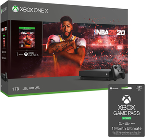 Xbox One X 1TB NBA 2K20 Bundle