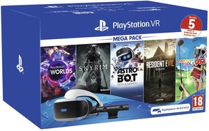 PlayStation VR Five-Games Pack + $25 Gift Coupon
