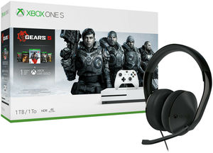 Xbox One S 1TB Gears 5 Bundle + Xbox Headset